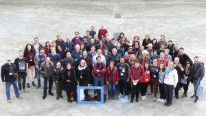 Foto di gruppo di itWikiCon 2018