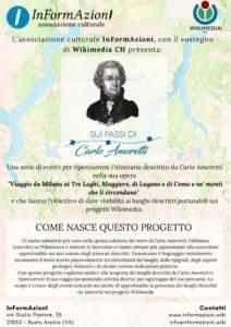 thumbnail of Sui passi di Carlo Amoretti